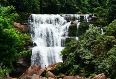Gaodiedong Waterfall