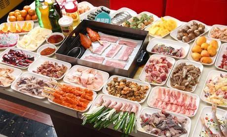 金尚宮海鮮自助餐燒烤火鍋