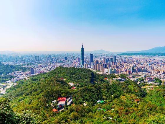 샹산 등산로
