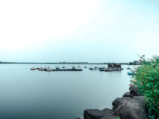 Xiangjiadang Moon Bay Beach