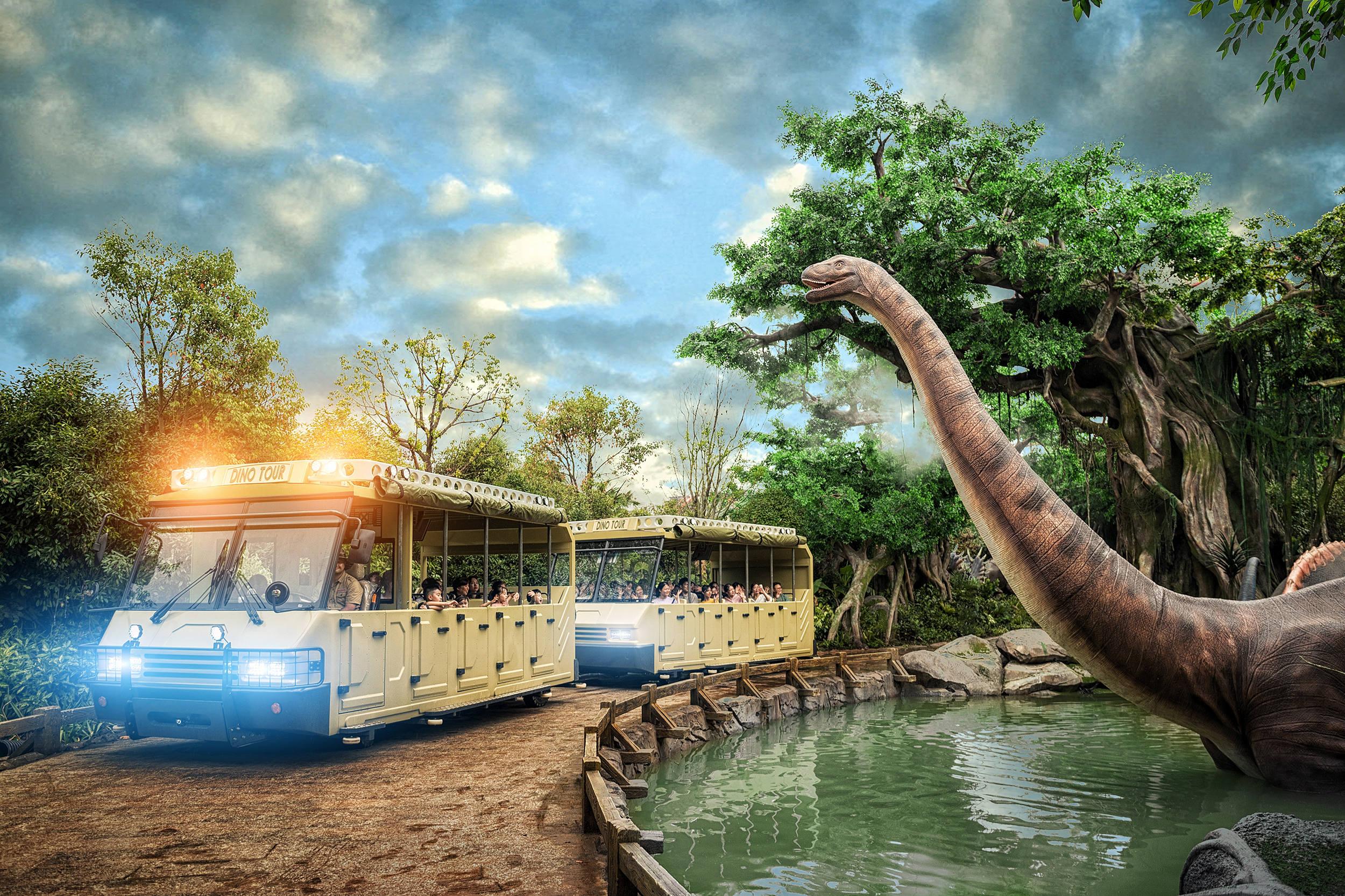 Chinese Dinosaur Park