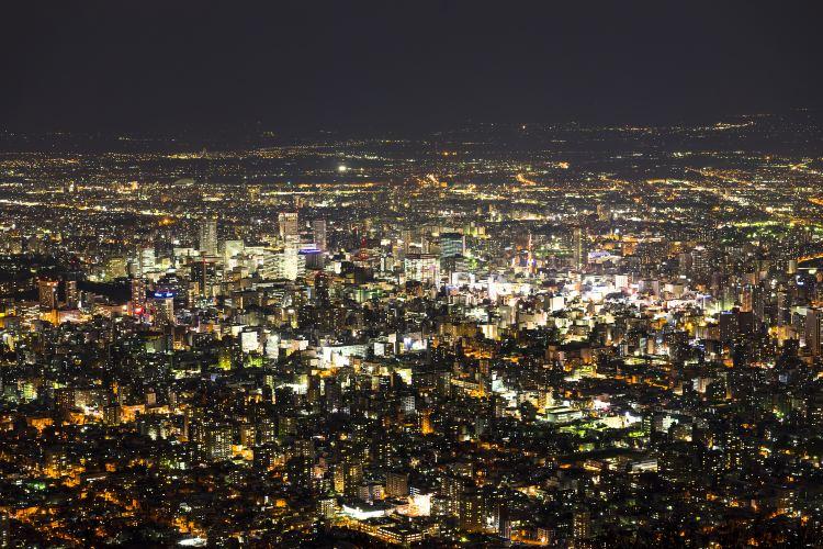 藻岩山觀夜景3