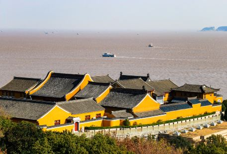 The Western Heaven Scenic District of Mount Putuo