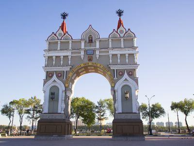 俄羅斯布拉戈維申斯克火車站