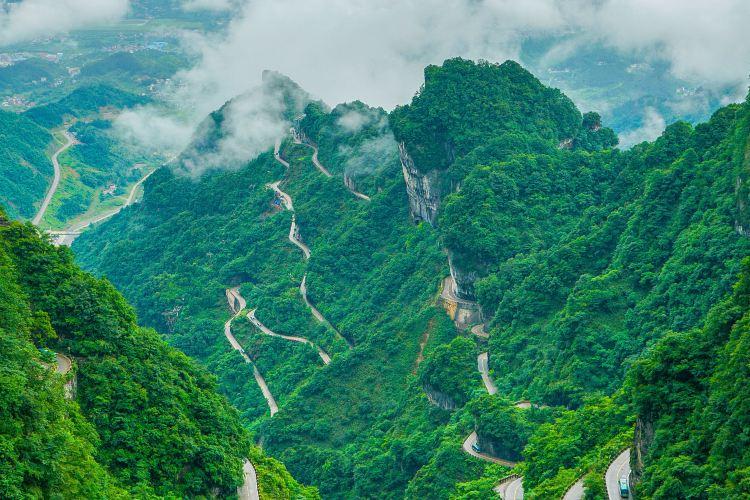 중국 텐먼산 통천대도4