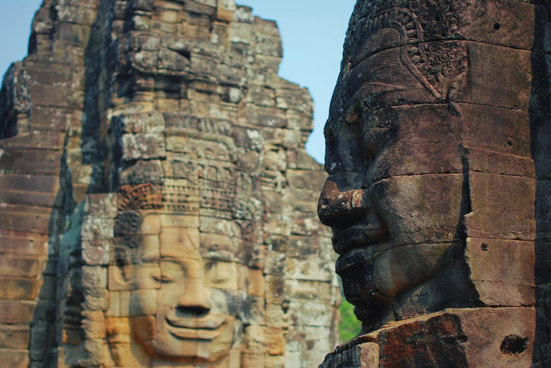 高棉的微笑