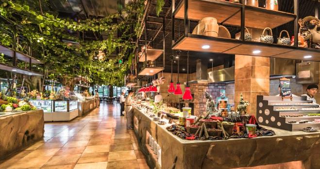 莫幹山開元森泊雨林餐廳3