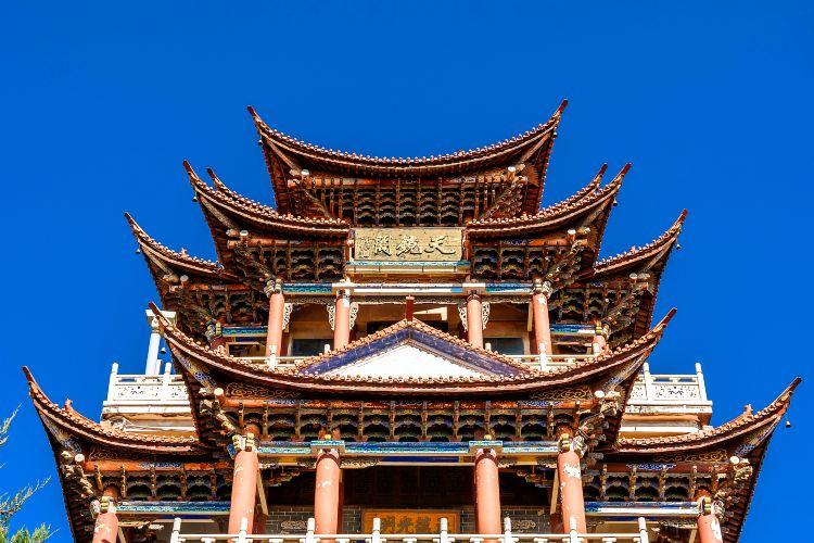 Dali Erhai Tianjing Temple2