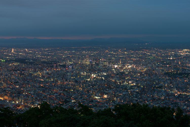 藻岩山觀夜景4