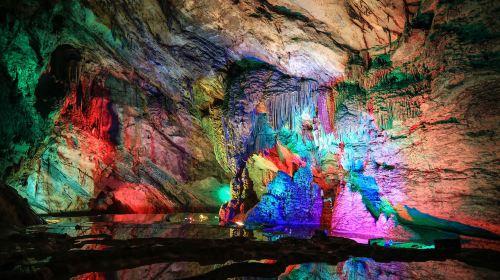 Purple Glow Rock