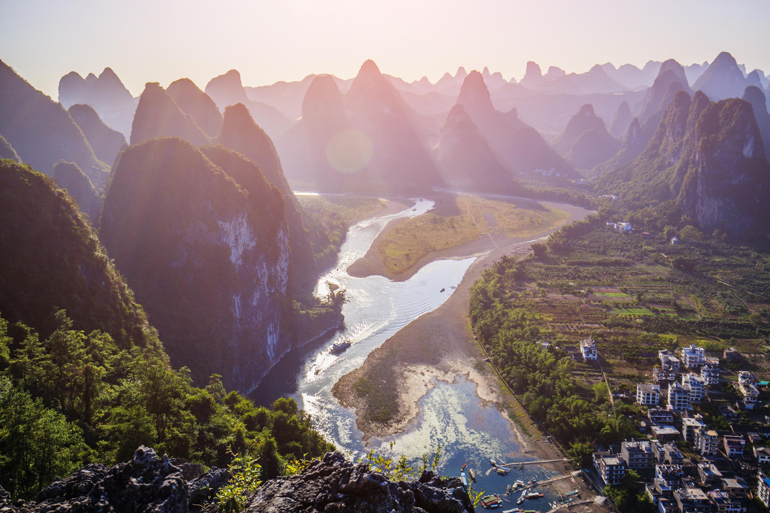 Minjiang River Gudong Scenic Area