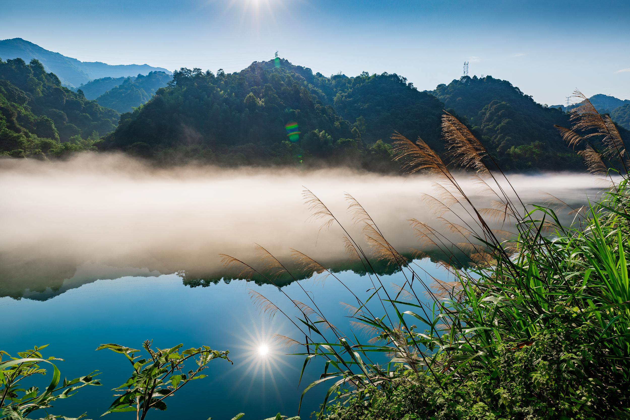 霧漫小東江
