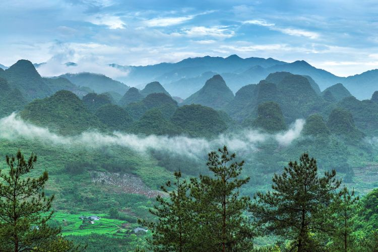 The first Yaozhai scenic spot in China