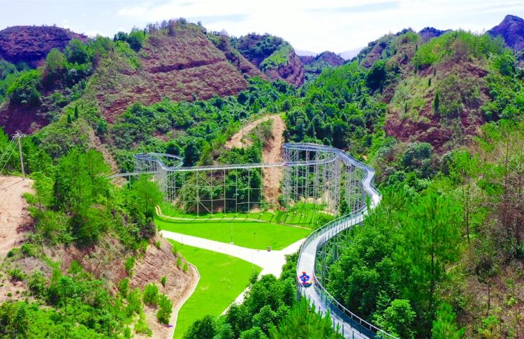 Changganziyun Mountain Sceneic Area4