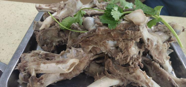 馬義黑白條烤羊肉1