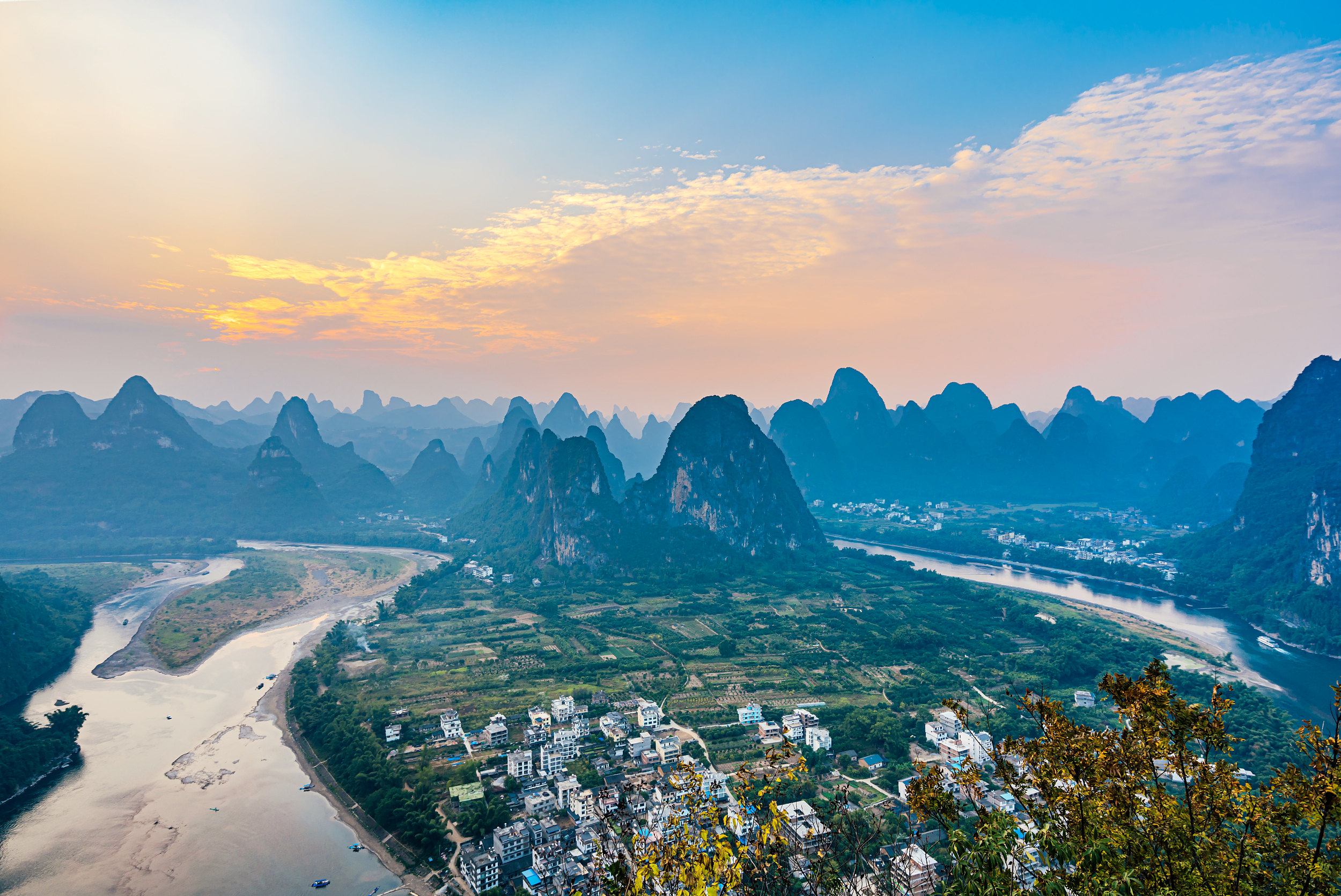 Featured Scenic Spot of Lijiang River
