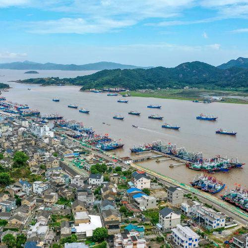 石浦漁港古城