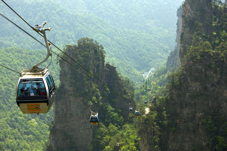 Tianzishan Cableway2