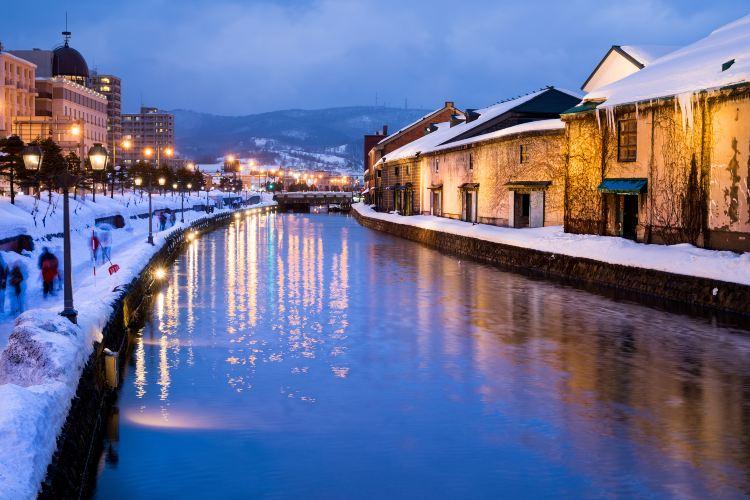 Otaru Snow Light Path3