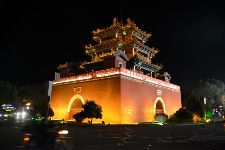 Zhongwei Drum Tower1