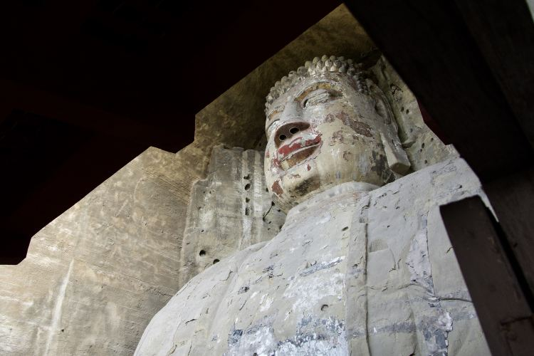Giant Buddha in Rong County2