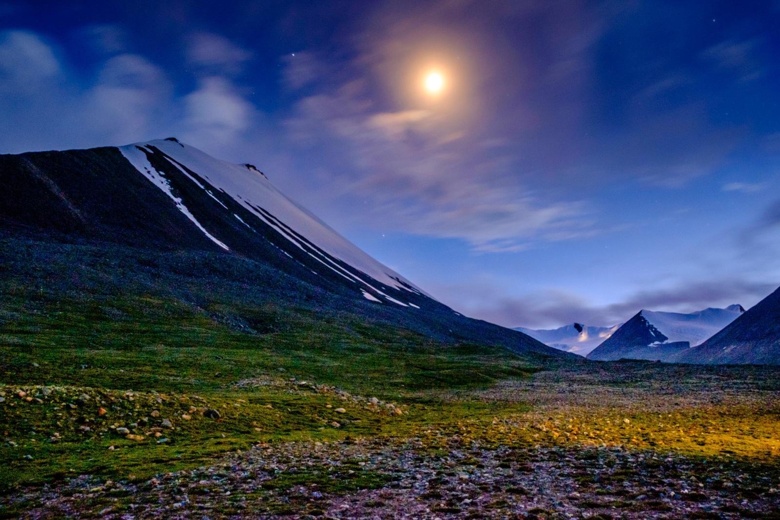 格拉丹東雪山