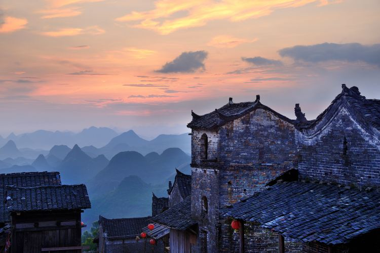 The first Yaozhai scenic spot in China1