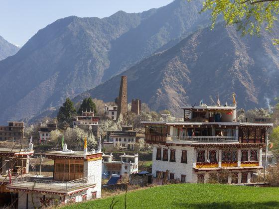 Ancient Scuptures, Suopo Tibetan Village