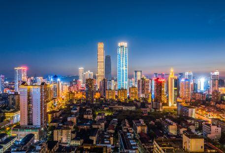 重慶渝北區金港國際步行街