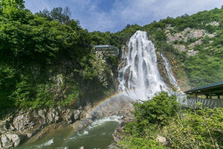 大別山彩虹瀑布1