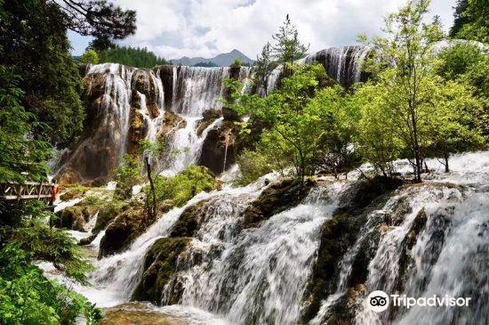 Xiongmaohai Waterfall3