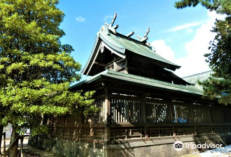 Shirokata Tenmangu Shrine in Matsue