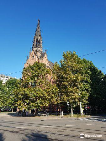 Kostel Jana Amose Komenskeho - Cerveny Kostel1