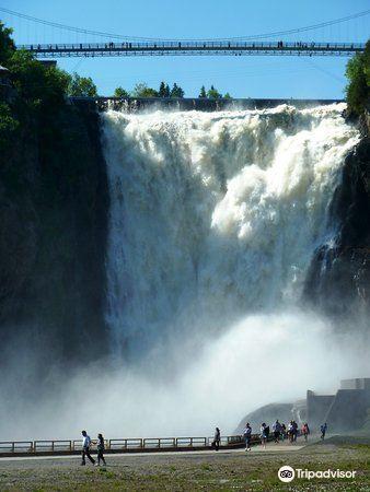 蒙特倫西瀑布公園 Parc de la Chute-Montmorency2