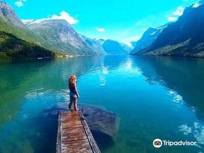 Lovatnet Lake