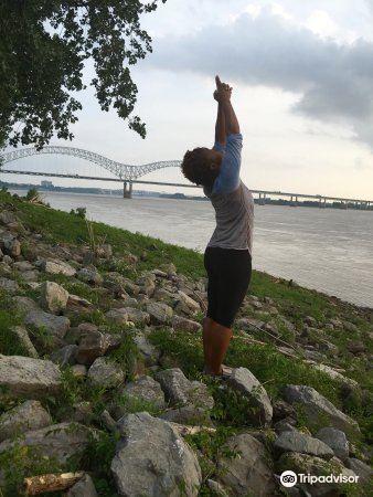 密西西比河岸綠化帶公園2