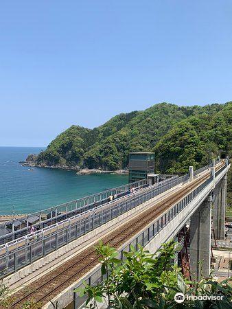 Amarube Railroad Bridge, Sorano Eki3