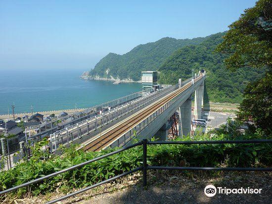 Amarube Railroad Bridge, Sorano Eki2
