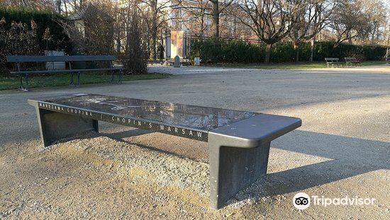 ショパンのベンチ