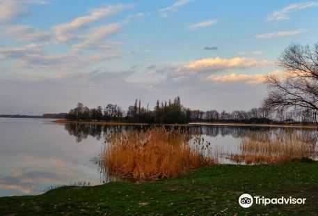 Hillfort on Slupca Lake