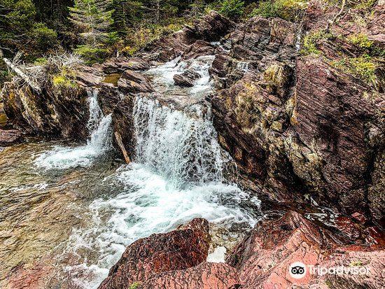 Red Rock Falls, Glacier National Park2
