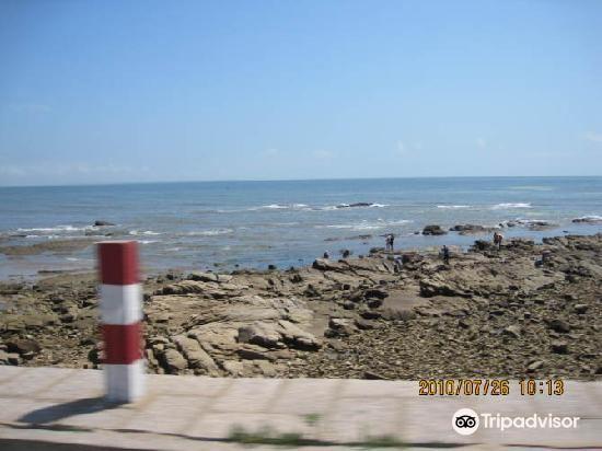 Golden Sandy Beach Bathing Beach
