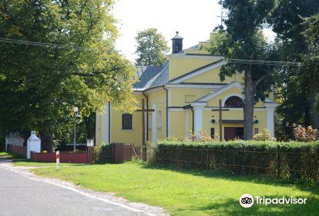 John the Baptist church - Uhrusk