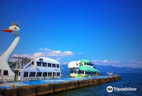 Bandai Kankosen, Lake Cruise in Inawashiro