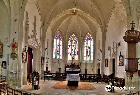 L'Eglise de Sainte-Catherine-de-Fierbois