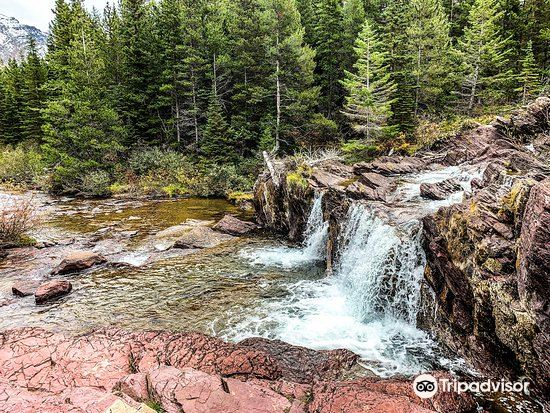 Red Rock Falls, Glacier National Park3