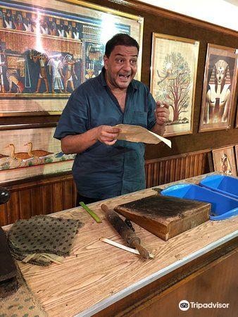 エジプトパピルス博物館4