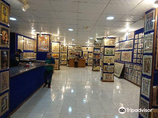 エジプトパピルス博物館1