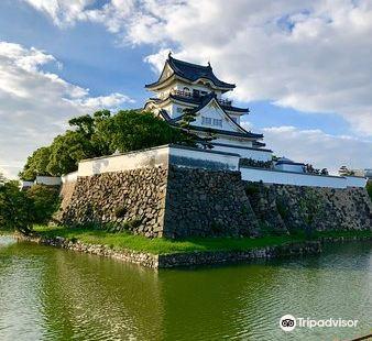 Kishiwada Castle ruins