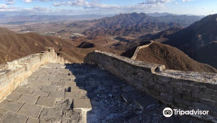 Great Wall at Shixia Pass